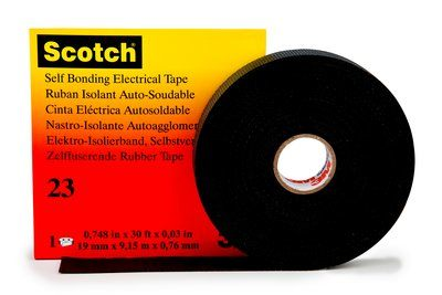 #3M7000007286 - Scotch 23 (19mm*9.15m)  O.G. 36kV KABLO EK VE TAMİR ERİYEN BAND 3M