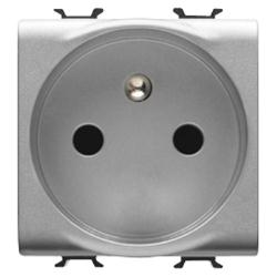 #GW14248 - 2M 2P+E 16A FRENCH SOCKET O.FR.TERM.BL GEWISS