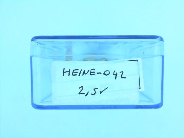 HEINE 042 2.5V OFTALAMASKOP AMPUL