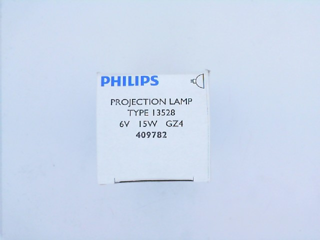 15W 6V GZ4 FOTO PROJEKSİYON  AMPUL PHILIPS 13528