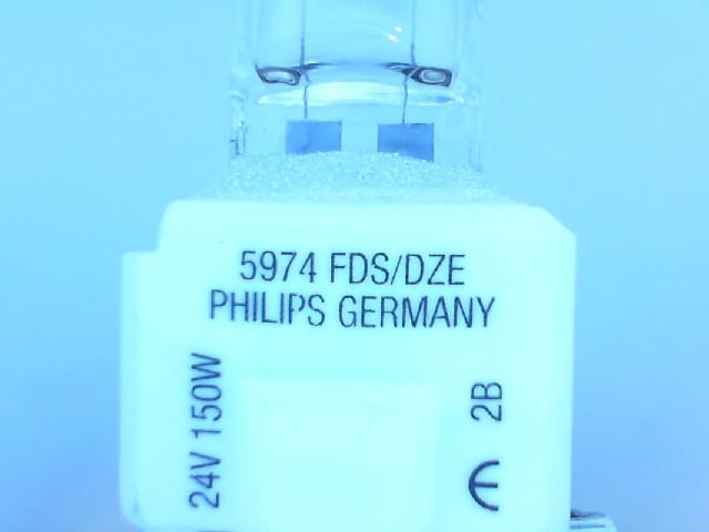 150W 24V GZ9.5 DZE/EDS FOTO PROJEKSİYON AMPUL PHILIPS 5974