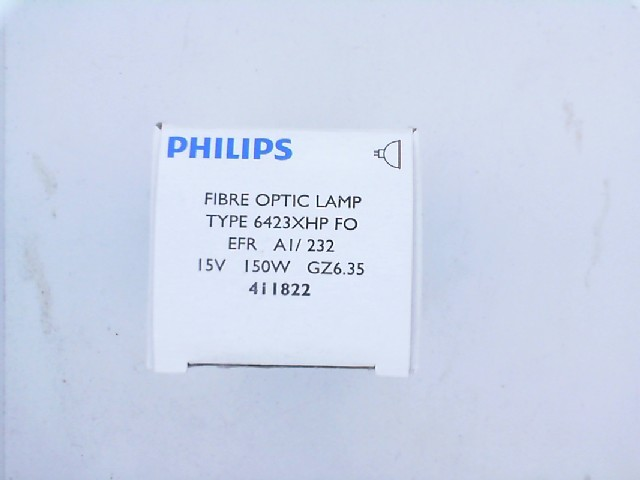 150W 15V G6.35 Ç XHP EFR 50h FOTO PROJ AMPUL PHILIPS 6423XHP