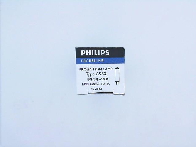 150W 15V G6.35 BRJ FOTO PROJEKSİYON AMPUL PHILIPS 6550