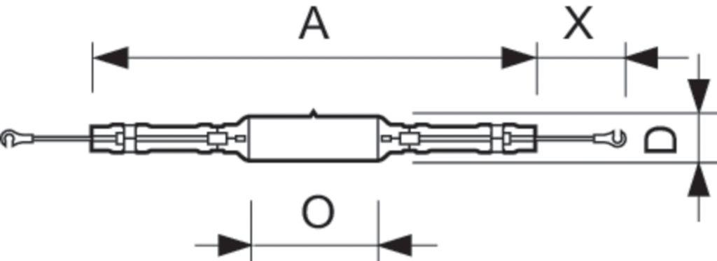 MHN-LA 1000W/842 230V XWH X528 CABLE METAL HALİDE AMPUL PHILIPS