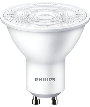 #P929002057387 - 3.2-40W 220V GU10 827 36D 300lm Essential LED PHILIPS