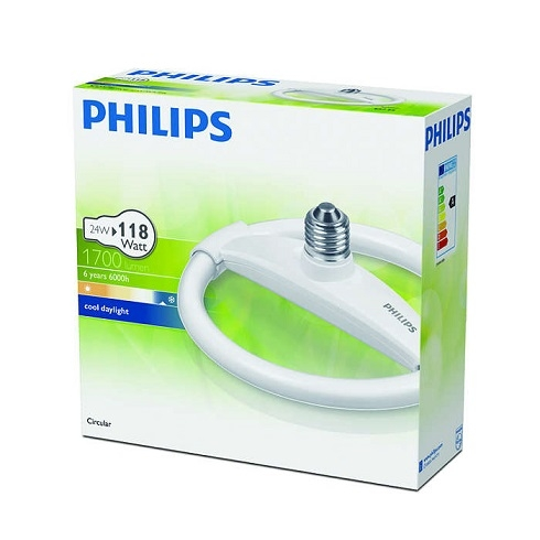 #P929689187201 - 24W E27 BEYAZ SİMİT FLORESAN AMPUL PHILIPS