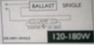 120-180W 220-240V STARTER BODYTONE PHILIPS