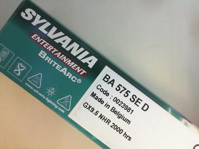 #S0023981 - 575W BA SE D GX9.5 0023981 SYLVANIA