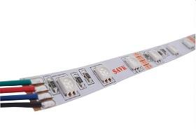 LED ŞERİT NWP 60LED/M 14,4W/M 12V 3 ÇİPLİ(SMD5050) RGB ŞAVK