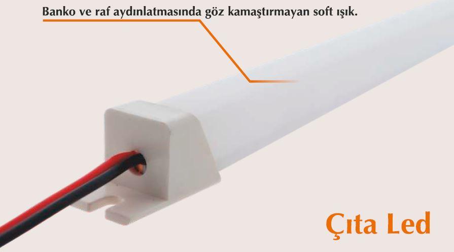 #Ş203011 - 11*11mm 60cm 6000K ÇITA LED ŞAVK