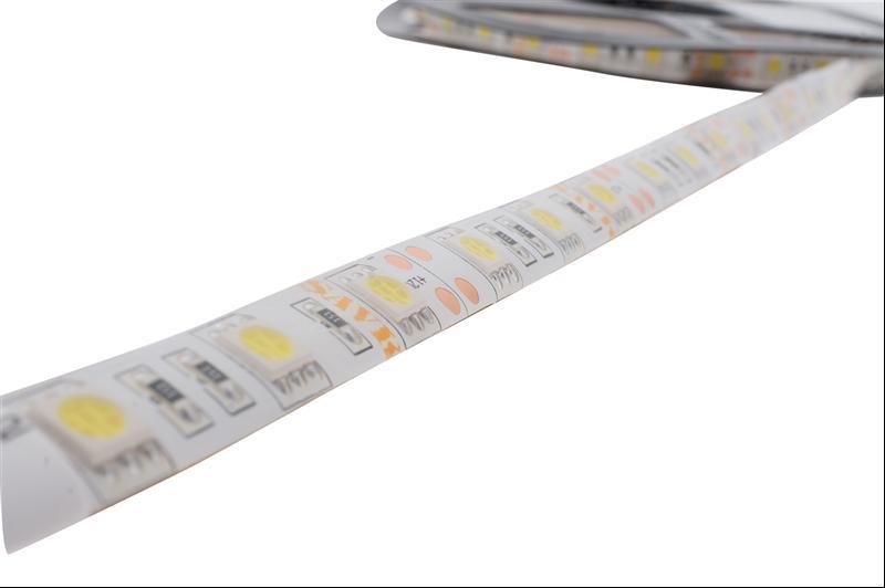 #Ş206311 - LED ŞERİT WP IP65 60LED/M 14.4W/M 12V 3 ÇİPLİ(SMD5050) BEYAZ ŞAVK