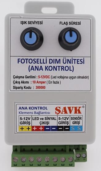 FOTOSELLİ DİM ÜNİTESİ ANA KONTROL 12V/5V 10A ŞAVK