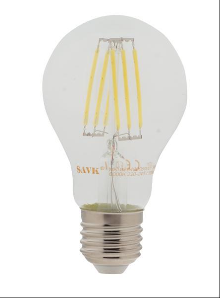 #Ş500505 - 6W 220V E27 865 600lm A60 FLAMANLI LED AMPUL ŞAVK