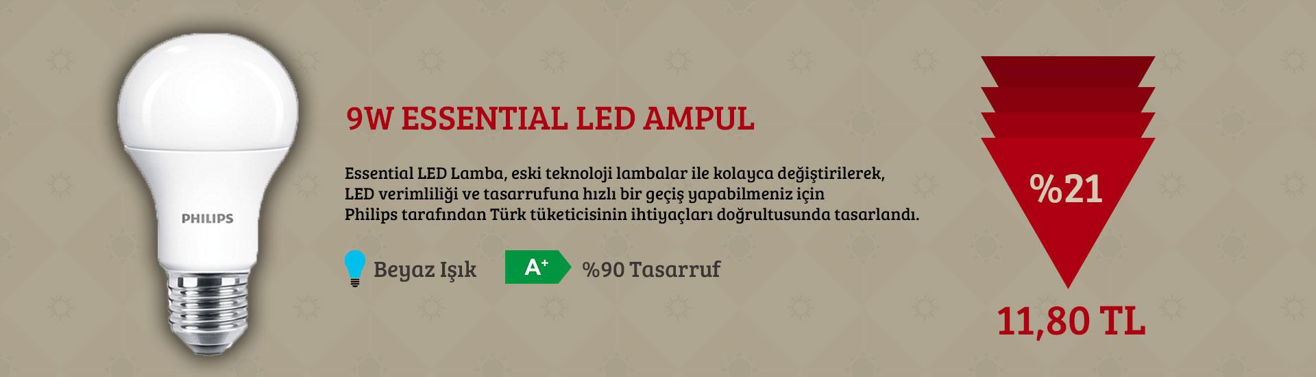 9W Essential Led Ampul